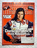 Danica Patrick Makes History at Indy - Indianapolis 500 - Sports Illustrated - June 6, 2005 - 2005 Rookie of the Year - Auto Racing - SI