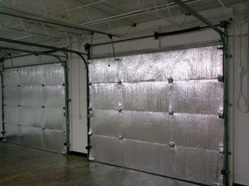 IMP SmartGARAGE - Reflective Garage Door Insulation Kit 18 Feet W x 7 Feet H and R VALUE- 8 , TWO 2 CAR GARAGE (Two Car Garage Doors)