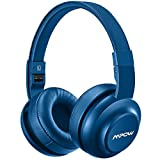 Mpow H2 Bluetooth Headphones w/ 4 Equalizer Modes, Hi-Fi Stereo Headset, Both Wired & Wireless Headphones On Ear for Cell Phone/ TV/ PC
