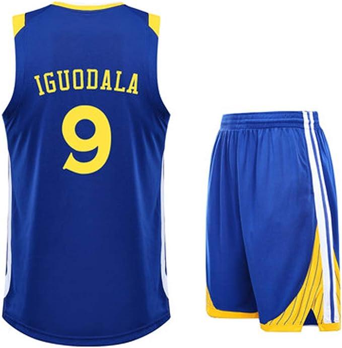 Jersey para hombre Baloncesto americano 9# Bola Shorts Conjunto de ...