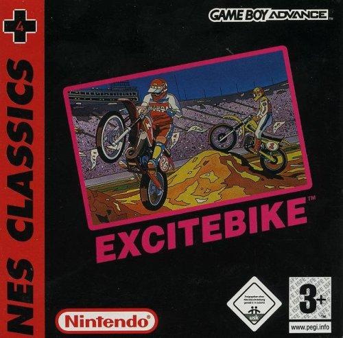 Excitebike Classic NES Game Boy Advance