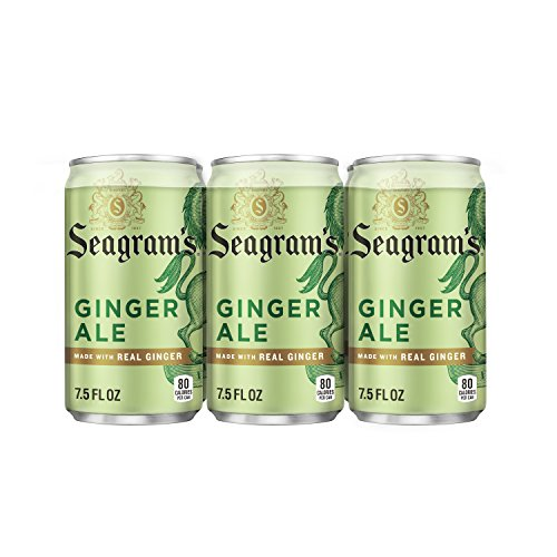 Seagram's Ginger Ale, 7.5 fl oz, 6 Pack