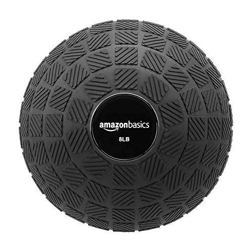 AmazonBasics Slam Ball, Square Grip, 8-Pound