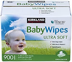 Best best natural baby wipes: Kirkland Signature Baby Wipes, Hypoallergenic, Unscented
