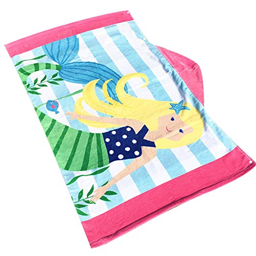 Euone Clearance Sales,Toddler Hooded Beach Bath Towel Shark Soft Swim Pool Coverup Poncho Cape For Boys Kids Children 1-12 Years Old Bath Robe