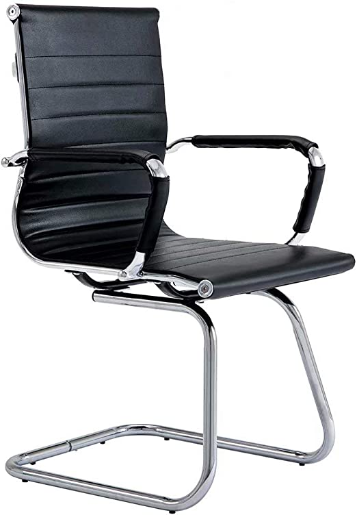 Amazon Com Covibrant Modern Office Chair Without Wheels Waiting Room Chairs With Arms For Reception Desk Conference Area Kitchen Dining