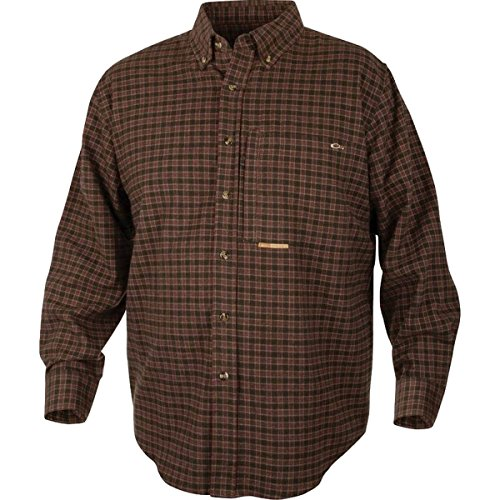 DRAKE Autumn Brushed Twill Shirt ()