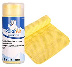 """Polar Air Cooling Towel for Instant Relief - 32""""x7"""""""