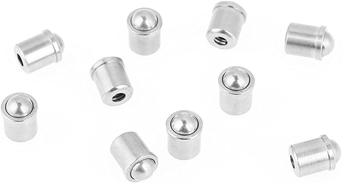 6mm Pressure Stainless Steel Ball Plunger 10pcs Ball Tip Spring Plunger 5mm
