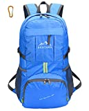 EQUICK Lightweight Foldable Packable Durable Travel Hiking Backpack Daypack-E025-Royal Blue.36L Review