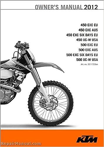 Amazon.com: 3211723 2012 KTM 450 EXC XC-W 500 EXC XC-W ...