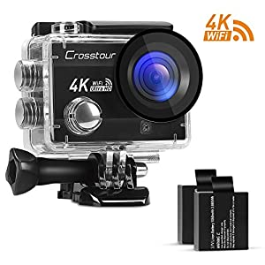 Crosstour 4K 16MP Action Camera
