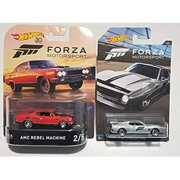 Amazon.com: AMC Rebel Machine Hot Wheels HW Forza Motorsport ...