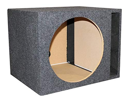 Q Power Single 15-Inch Vented Unloaded - Subwoofer Box Unloaded