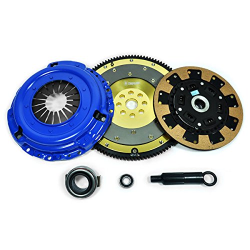 (PPC RACING KEVLAR CLUTCH KIT+ALUMINUM FLYWHEEL for RSX TYPE-S CIVIC Si 2.0L 6SPD)