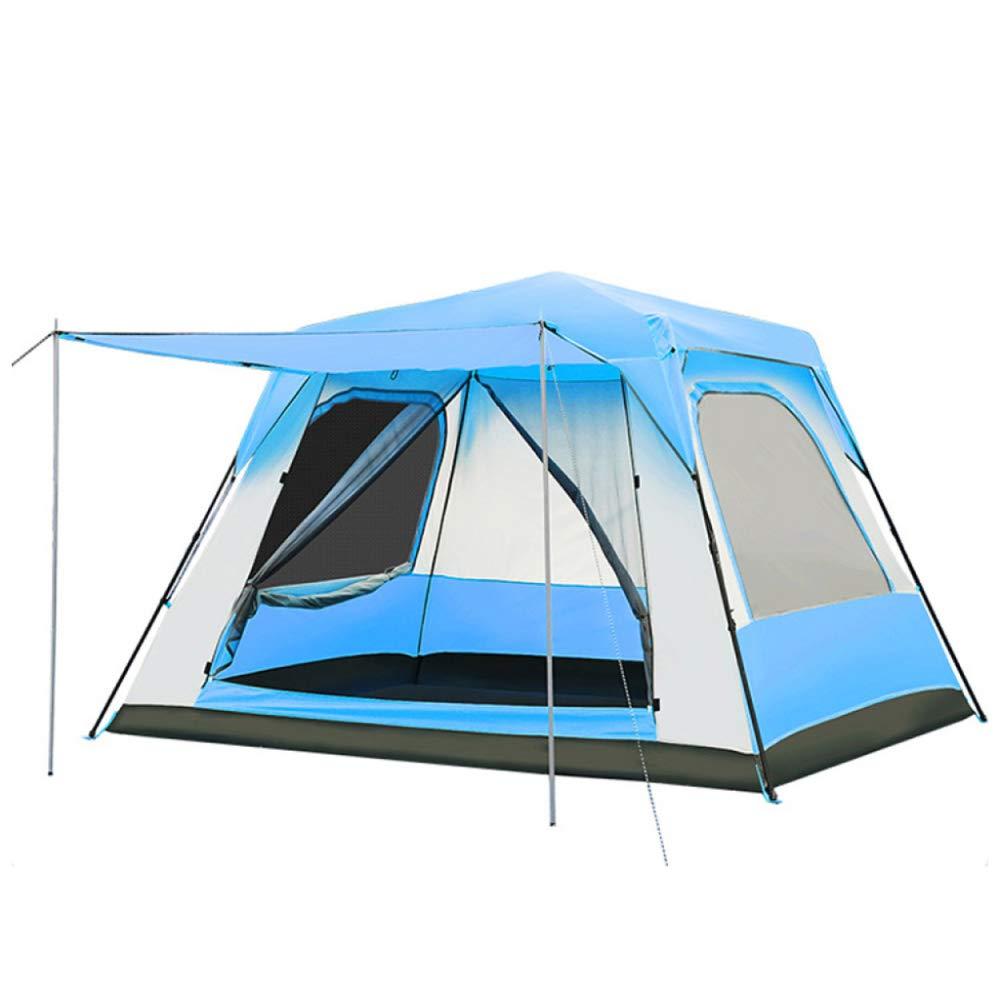 DLLzq Automatisches POP Up Zelt 5-8 Personen Outdoor Outdoor Camping Wasserdicht Und UV-Schutz