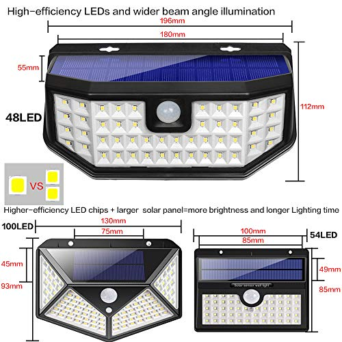 sale retailer b5d57 fbb47 Aootek New Upgraded Solar Lights with Wide Angle - Import It All