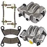 Rear Left Right Brake Caliper Pad Set 2008-2009 Polaris Ranger Crew 700 1911287 1911288