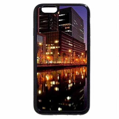 iPhone 6S / iPhone 6 Case (Black) Tokyo City