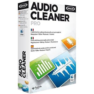 MAGIX Audio Cleaning Lab Pro Estándar - Software De Edición De Audio Para Mac