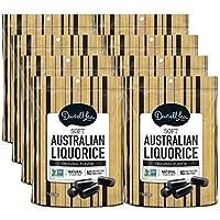 Soft Australian Black Licorice (8-Pack) - Darrell Lea (8) 7oz Bags - NON-GMO, NO...