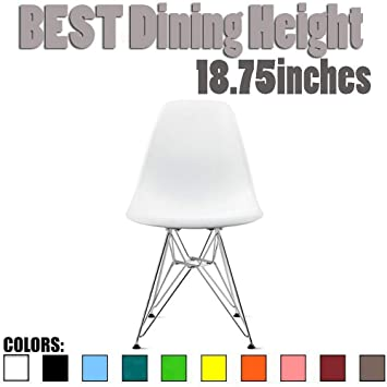 Wondrous 2Xhome White Plastic Side Chair Chromed Wire Legs Eiffel Legs Dining Room Chair Lounge Chair No Arm Arms Armless Less Chairs Seats Wooden Wood Forskolin Free Trial Chair Design Images Forskolin Free Trialorg