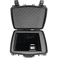 CASEMATIX PRO Projector Carry Case For BENQ W1110 , MS524A , HT2150ST , HT2050 , HT1070 , MU686 , HT3050 , MH750 , TH670 , MW526A , MX631ST , MH741 , MW632ST , MX525A , MW705 , HDMI Cable and More