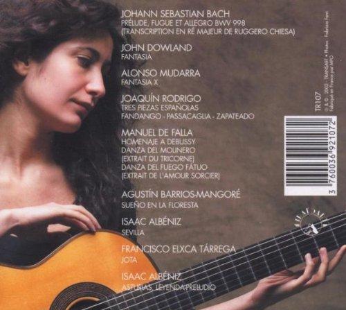 Albeniz, Bach, Barrios, De Falla, Dowland, Mudarra, Rodrigo, Tarrega by Transart Live
