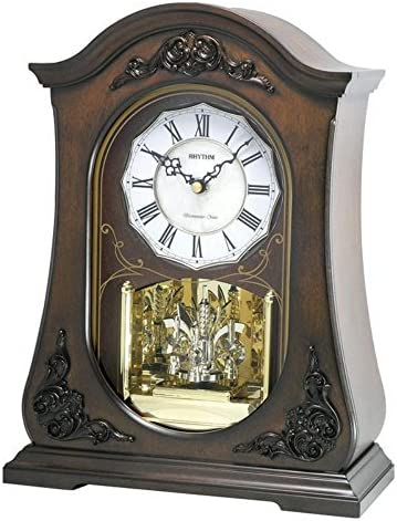 Rhythm Clocks WSM Chelsea Musical Mantle Clock