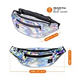 Vibe Fanny Pack for Women - Shiny Holographic