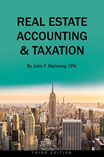 Real Estate Accounting and Taxation, used for sale  Delivered anywhere in USA