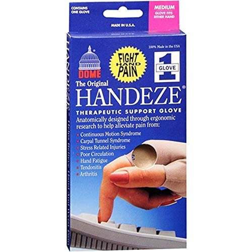 HANDEZE Glove Medium Beige 1 Each (Pack of 2) ()