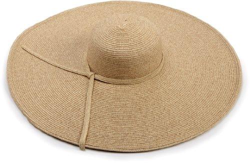 San Diego Hat Company Women's Ultrabraid X Large Brim Hat,Toast,One Size