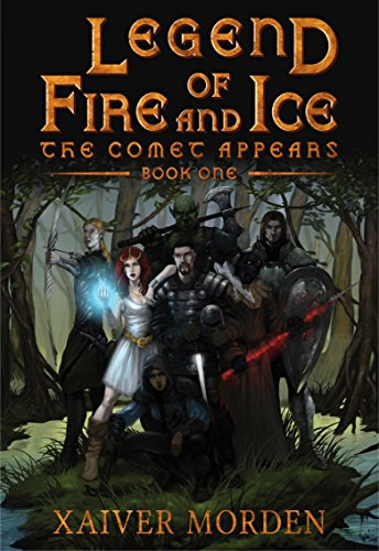 Legend of Fire and Ice: The Comet Appears - Book (Comet Ice)