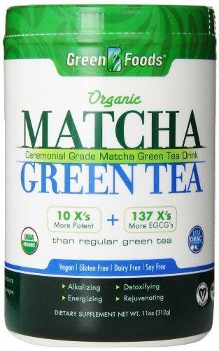 Green Foods Matcha Green Tea (Pack of 3)