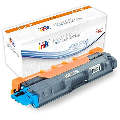 Starink Compatible Brother TN225C TN221 TN225 Cyan Laser Toner Cartridge High Yield 2,200 for HL-3140 HL-3150 HL-3170 MFC-9130 MFC-9140 MFC-9330 MFC-9340 LaserJet Printer(1 Cyan)