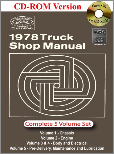 1978 Ford Truck Shop Manual
