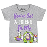 Toy Story You've Got a Friend In Me - Buzz Lightyear, Grey (2T)