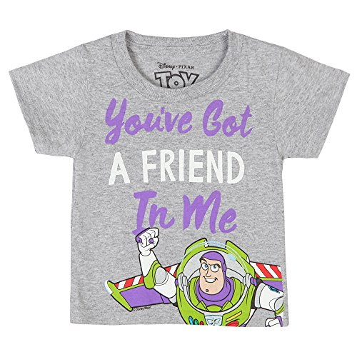 Toy Story You've Got a Friend in Me - Buzz Lightyear, Grey (2T)