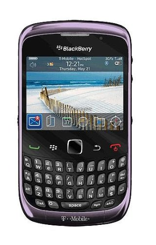 Blackberry 9300 Curve 3G Unlocked SmartPhone with Wi-Fi, GPS, 2 MP Camera and Bluetooth - Unlocked Phone - US Warranty - Violet