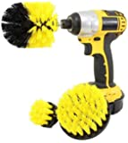 Drill Brush Attachment Set - Power Scrubber Brush Cleaning Kit - All Purpose Drill Brush for Bathroom Surfaces, Grout…