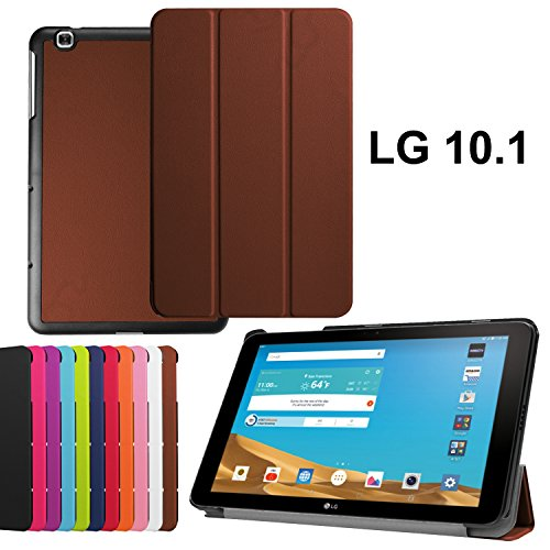 Asng LG G PAD X 10.1 Case - Ultra Slim Lightweight Standing Cover for LG G Pad 2 10.1 inch (V940)/LG G PAD X 10.1 Inch (4G LTE AT&T V930) - Android Tablet 2015