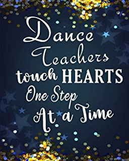 An amazing dance teacher is hard to find difficult to part ...