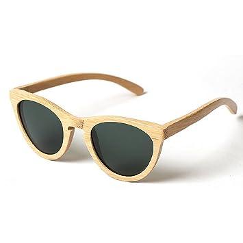 7d7accef7119c3 Lunettes de soleil homme Personnalité en bois cadre lunettes de soleil pour  les hommes à la