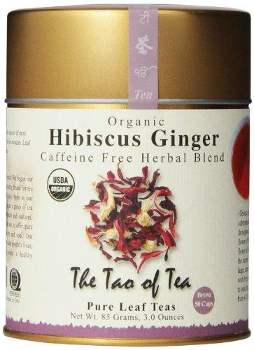The Tao of Tea, Hibiscus Ginger Tea, Loose Leaf, 3.0 Ounce Tin