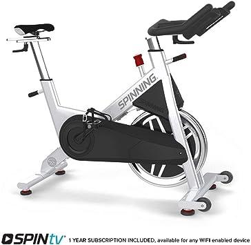 SPINNING Bicicleta de Ciclismo para Interiores A3, Color Plateado ...