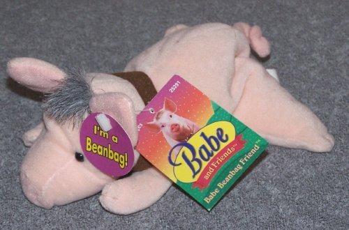 Bean Bag Pigs (BABE THE PIG 1998 Plush Bean Bag (With Tags))