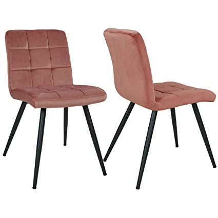 Image Unavailable  sc 1 st  Amazon.com & Amazon.com - Mid Century Modern Chair Accent Dining Chairs Metal ...