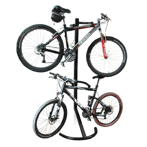 Gravity Bike Storage Rack - 1107 RAD Cycle Gravity Bike Stand Bicycle Rack For Storage or Display Holds Two Bicycles But Takes Up Half The Space