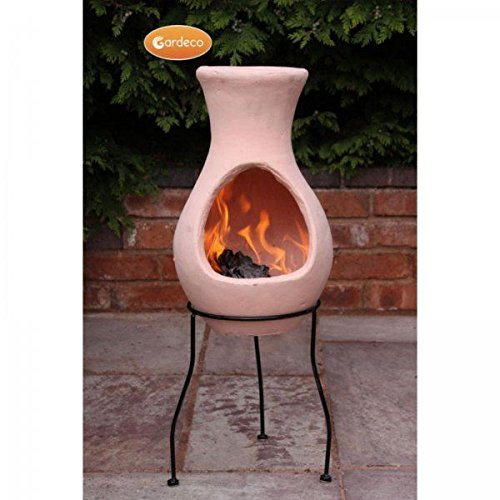 Gardeco 4 Elements Small Clay Chiminea Air